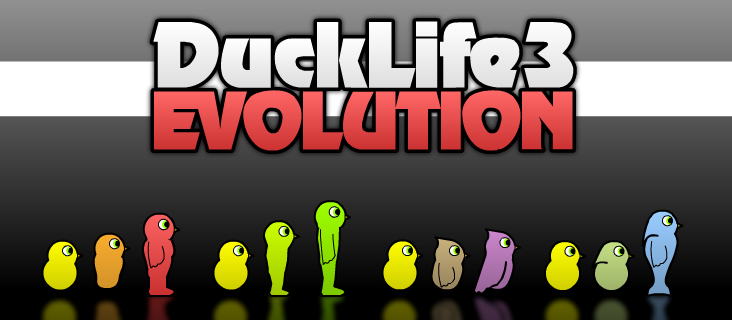 DuckLife3 Evolution Flash Game