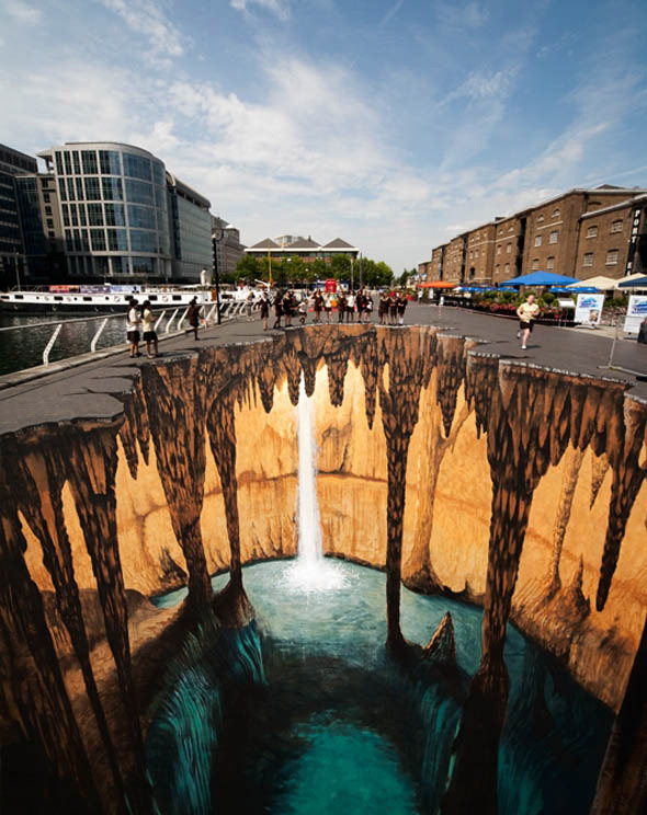 perspective graffiti